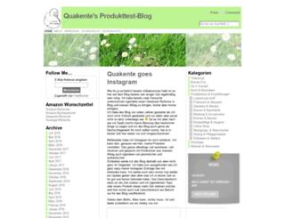 produkttest-blog.de screenshot