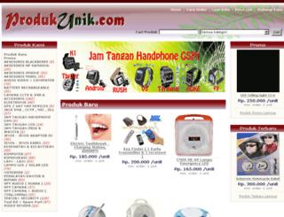 produkunik.com screenshot
