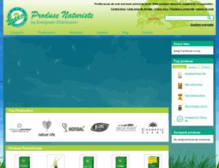 produsenaturiste.ro screenshot