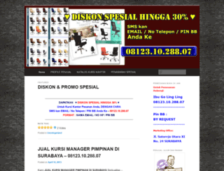 produsenkursikantorfit.wordpress.com screenshot