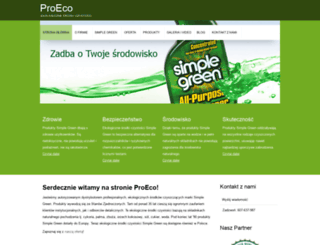 proecosg.pl screenshot