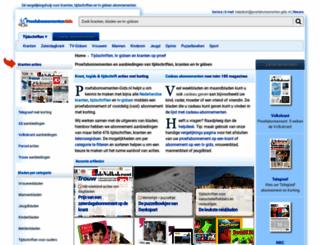 proefabonnementen-gids.nl screenshot