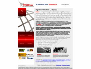 proena.es screenshot