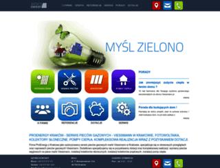 proenergy.com.pl screenshot