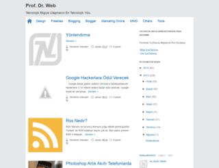 prof-dr-web.blogspot.com screenshot