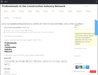 prof-in-constr-ind-network.com screenshot