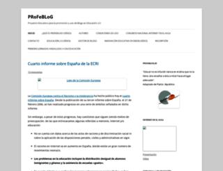 profeblog.es screenshot
