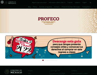 profeco.gob.mx screenshot