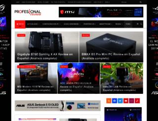 profesionalreview.com screenshot