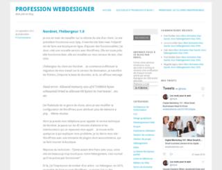 profession-webdesigner.com screenshot