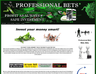 professional-bets.com screenshot