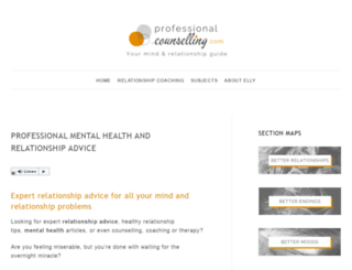 professional-counselling.com screenshot