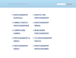 professional-photographers.us screenshot
