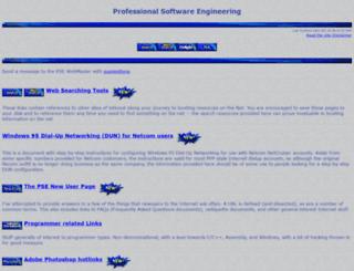 professional.org screenshot