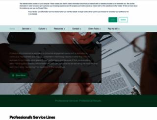 professionalcredit.com screenshot