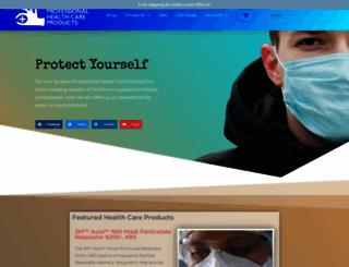 professionalhealthcareproducts.com screenshot