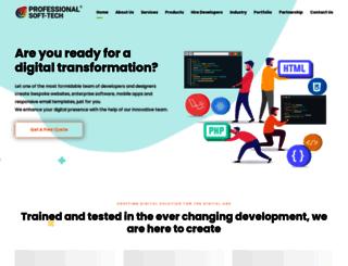 professionalsofttech.com screenshot