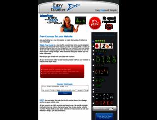 professionalwebcounter.com screenshot