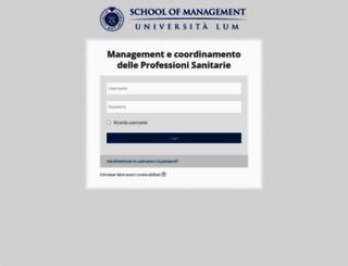 professionisanitarie.lum.it screenshot