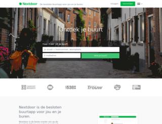 professorenwijkoost.nextdoor.nl screenshot