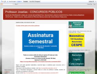 professorjoselias.blogspot.com screenshot