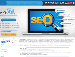 proffi-seo.com screenshot