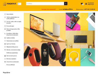 proffit.lv screenshot