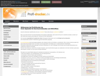 profi-drucker.de screenshot