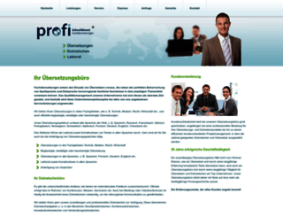 profi-fachuebersetzungen.de screenshot