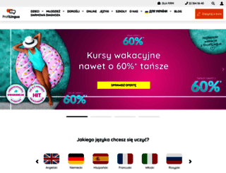 profi-lingua.pl screenshot