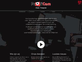 proficam.nl screenshot