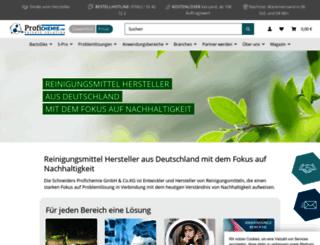 profichemie.com screenshot