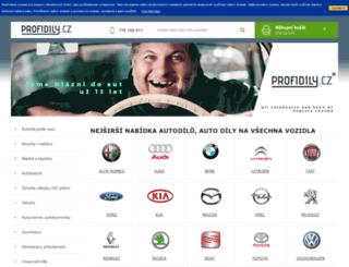 profidily.cz screenshot
