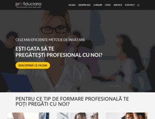 profiduciaria.ro screenshot
