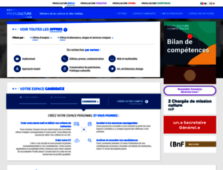 profilculture.com screenshot