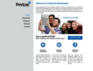 profile.beyluxe.com screenshot