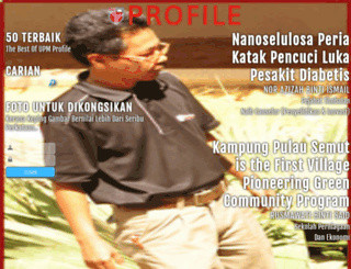 profile.upm.edu.my screenshot