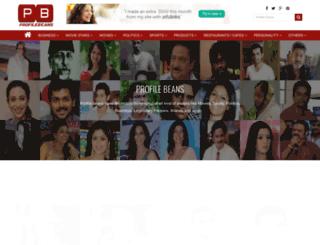 profilebeans.com screenshot