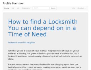 profilehammer.com screenshot