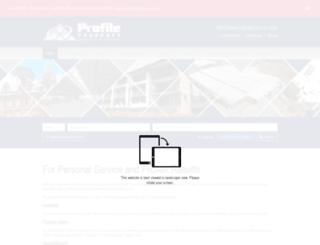 profileproperty.co.za screenshot