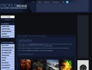 profilerehab.com screenshot