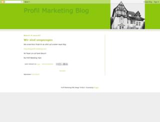 profilmarketing.blogspot.de screenshot