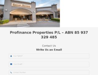 profinance.com.au screenshot
