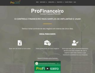 profinanceiro.com.br screenshot