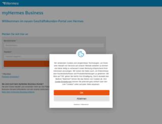 profipaketservice.hlg.de screenshot