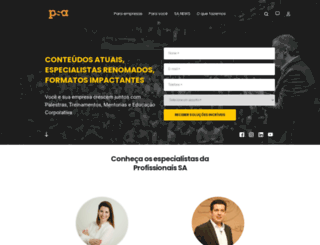 profissionaissa.com screenshot