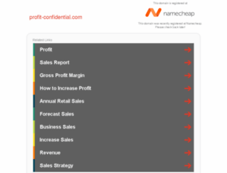 profit-confidential.com screenshot