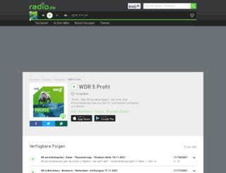 profit.radio.de screenshot