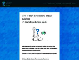 profitablebusiness.online screenshot