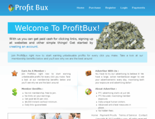 profitbux.com screenshot